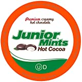 Tootsie Roll Junior Mints Chocolate Mint Hot Cocoa Pods, Compatible with Keurig Brewers, 40Count -...