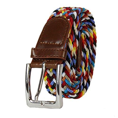 Glamexx24 Cinturón elástico de tela unisex Cinturón elás