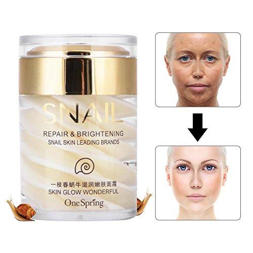 Schneckencreme, Schnecke Feuchtigkeitscreme, Secretion nährende Haut Creme Gesicht Anti Aging...