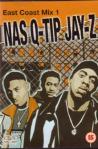 East Coast Mix NAS Q-TIP JAY-Z DVD Music NEW