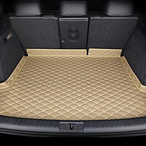 Car Boot Cargo Mats Liner Tray FüR Jaguar XE 2015-2018, MaßGeschneiderte Heckkoffer Staubdichte Schutzmatte Allwetter Anti-Scratch Auto Storage Bodenplatte ZubehöR