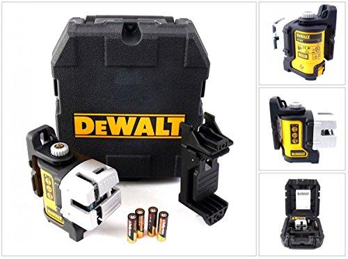 Dewalt DW089K-XJ - Nivel láser con base magnética