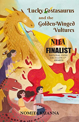 Lucky Costasaurus and the Golden-Winged Vultures (English Edition)