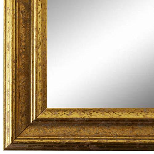 Online Galerie Bingold Spiegel Wandspiegel Gold 50 x 80 cm - Barock, Antik, Landhaus, Vintage - Alle Größen - Massiv - Holz - AM - Forli