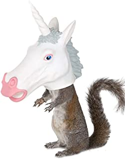 Accoutrements Squirrel Feeder Unicorn Standard