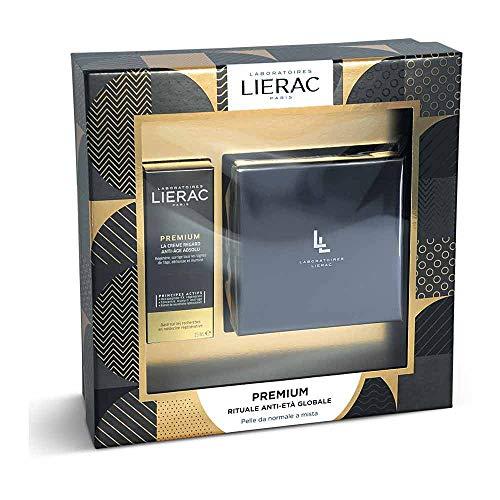 Lierac Linea Premium Anti-Età Cofanetto Crema Soyeuse + Contorno Occhi Premium