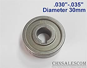 0.8-0.9 V-Groove Mig Welder Wire Feed Drive Roller Roll Parts .030