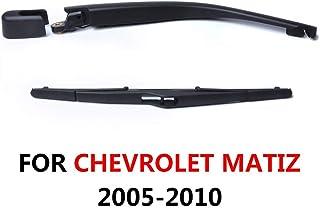 SLONGK Ensamblaje De La Cuchilla del Brazo del Limpiaparabrisas Trasero, para Chevrolet Matiz Hatchback 2005