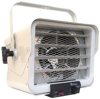 Dr Heater DR966 240-volt Hardwired Shop Garage Commercial Heater 3000-watt/6000-watt  Renewed