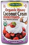Let's Do Organic Heavy Coconut Cream, 13.5 Ounce
