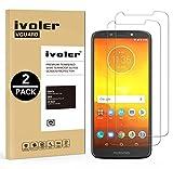 iVoler [2 Pack] Pellicola Vetro Temperato per Motorola Moto G6 Play/Motorola Moto E5, Pellicola Protettiva, Protezione per Schermo
