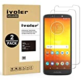 ivoler [Pack de 2] Verre Trempé pour Motorola Moto E5 / Motorola Moto G6 Play, Film Protection en...