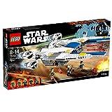 LEGO Star Wars - Figura Rebel U-Wing Fighter, Nave de Juguete para Construir Basado en la Saga de la Guerra de las...