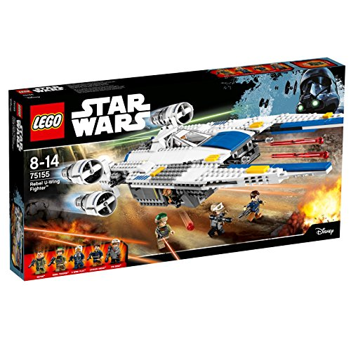 LEGO - Star Wars Figura Rebel U-Wing Fighter, Miscelanea (75155)
