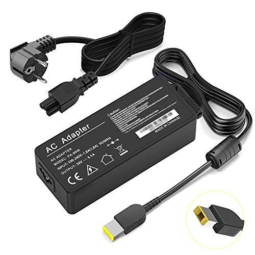 Cargador Lenovo USB 90W computadora, punta USB para Lenovo Thinkpad E440 E450 E550 E560 T430 T440 T440S T440P T450 T460 T460S T540P T560, Lenovo Yoga 13 Yoga 11S Yoga 2 Z505 Z580, Lenovo Power Adapter