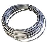 Alutech Mastertec - Hilo para desbrozadora profesional 3,3, para cabezal desbrozadora universal, hilo para desbrozadora de gasolina, 3,3 x 10 m
