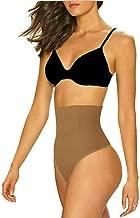 ShaperQueen 102B Thong - Womens Waist Cincher Body Shaper Trainer Girdle Faja Tummy Control Underwear Shapewear (Plus Size)