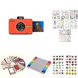 Polaroid Snap Touch - Cámara Digital con impresión instantánea, Rojo + Set Regalo