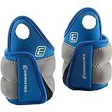 ENERGETICS Gewichtsmanschette mit Daumenschlaufe, Blau/Grau, 1 kg