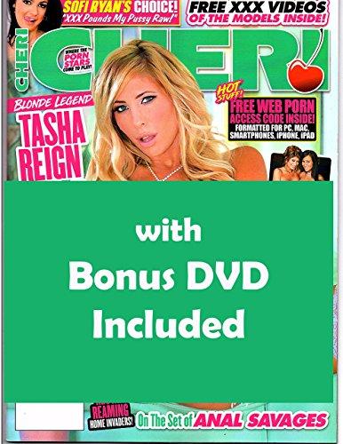 Tasha Reign Faye Reagan Cheri adult Magazine #261 2018 with Lesbians Thongs & Rubber Dongs Bonus XXX DVD