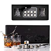 Verre en cristal sans plomb de qualité supérieure: Chez Lillywhite & Brown, nous n'utilisons que des verres en cristal sans plomb de la plus haute qualité pour notre collection de verres à whisky, ce qui fait de ces verres droits traditionnels vinta...