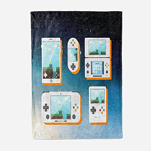 Mantas para Sofa 80x150cm Mantas para Cama de Franela Reversible Mantas,,Ligeras de 100% Microfibra Fácil De Limpiar Extra Suave Cálido