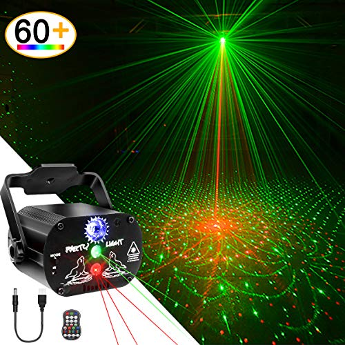 USB Party Lights DJ Disco Ball Strobe Light,...