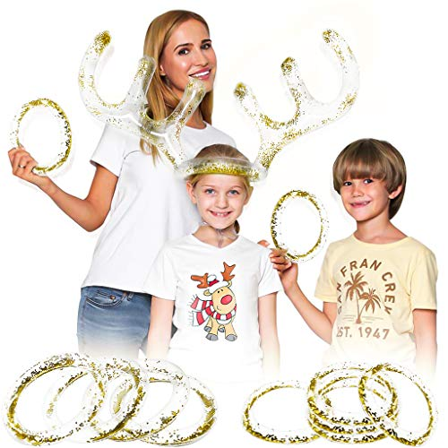 (50% OFF) Inflatable Antler Ring Toss Game $4.99 – Coupon Code