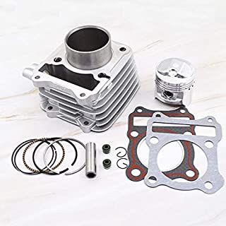 Motorcycle Cylinder Piston Gasket Rebuild Kit for SUZUKI GN125 GN 125 1982-2001 125cc 150 cc STD 57mm Big Bore 62mm