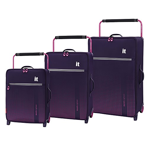 it luggage World's Lightest Vitalize 2-Wheel, Gothic Grape, One Size