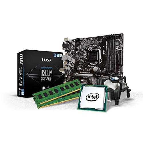 Kiebel Intel Upgrade Kit, Intel Core i7 9700K (8x3.6 GHz), bis 64GB DDR4-3000, bis 2000GB SS,| Aufrüst Set Konfigurator [184842]