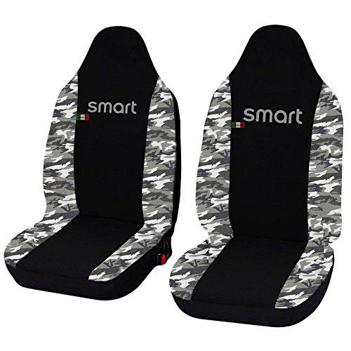 Lupex Shop Smart.3S_N.Mch Coprisedili Auto Nero Mimetico Chiaro