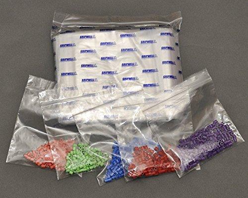 Sachets Refermables Plastiques x 100