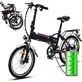 Bunao Bicicleta eléctrica de montaña, 250W, Batería 36V E-Bike...