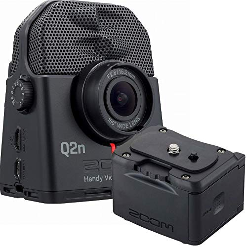 ZOOM ズーム / Q2n-4K+ BCQ-2N 4Kハンディビデオレコーダー