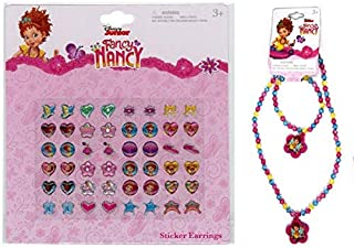 NANCY Fancy Earrings and Ring Set with Necklace & Bracelet Set