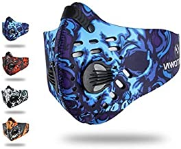 Fengyuan Sports Breathing mask - Fitness Mask,Activated Carbon dust Respirator for Cycling, Running, Daily Leisure and Other Outdoor Sports (Blue)