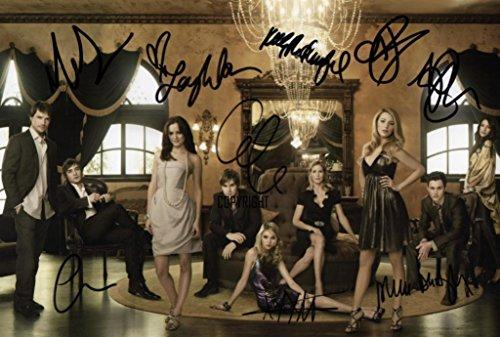 Edición limitada Gossip Girl fundido Firmado Fotografía + Cert...