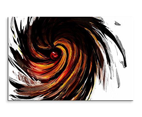 Obito Uchiha Naruto Mask Wandbild 120x80cm XXL Bilder und Kunstdrucke auf Leinwand