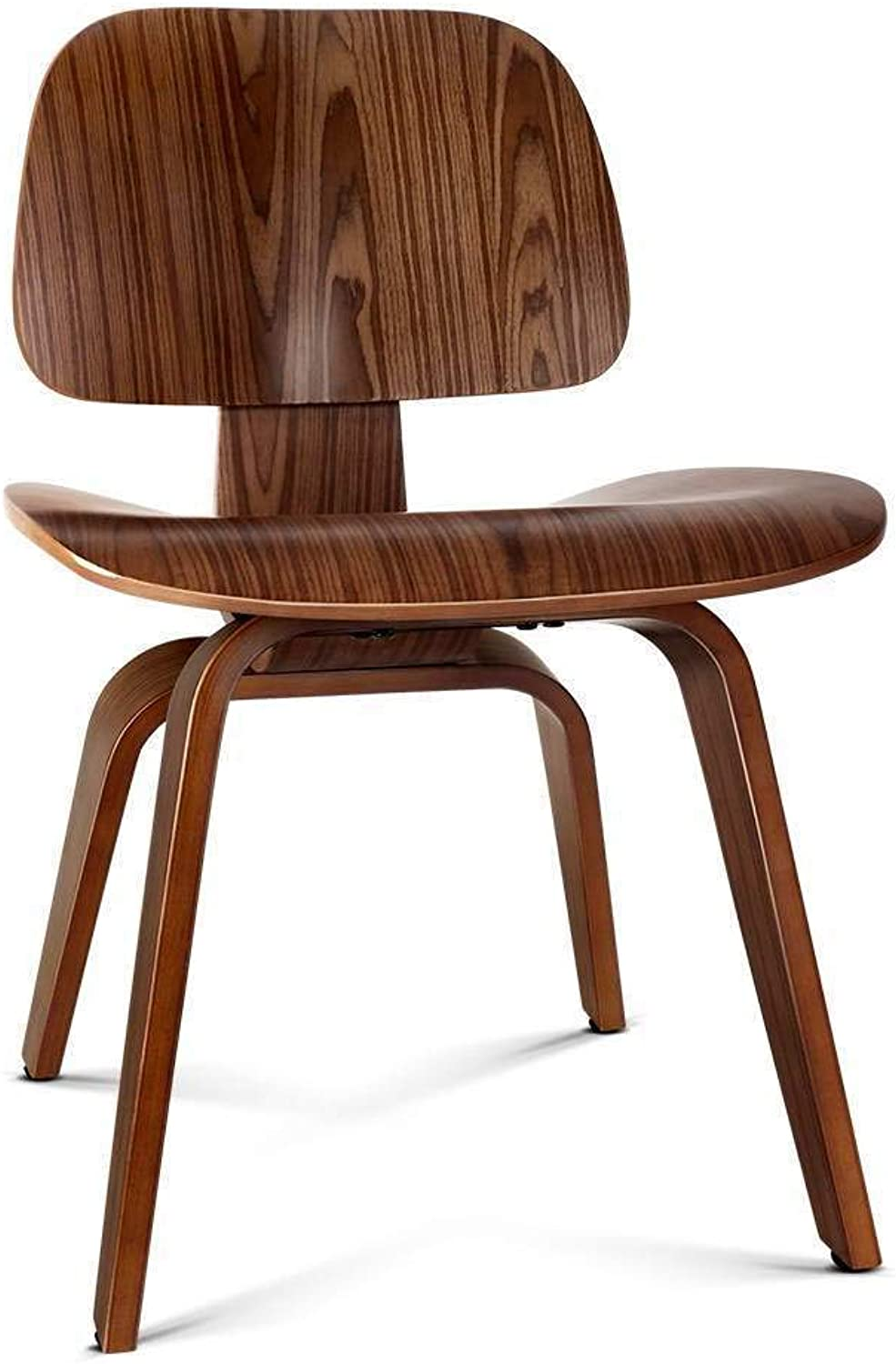 Artiss Eames DCW Lounge Dining Chairs Wooden Living Room Chairs Walnut
