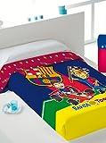 FC Barcelona Tagesdecke Toons Bett 105 cm Blau/Granate