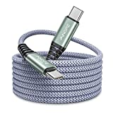 USB C to USB C Cable 100W/5A, 10FT AINOPE Super Fast Charging Macbook Pro Charger Cord Compatible with MacBook Pro 2020/2019/2018, Samsung Galaxy S21 S10 S9, iPad Air 4, iPad Pro 2020/2019/2018, Pixel