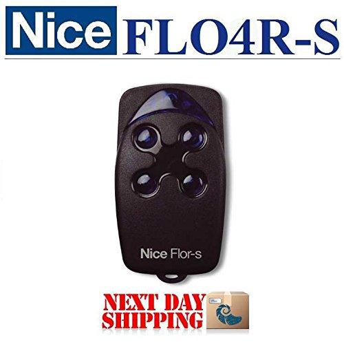 Nice FLO4R-S 4-canaux mando a distancia, 433,92mhz rolling code emisor. Compatible con 2botones, One, Flora, Inti mandos a distancia.