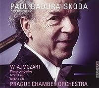 Mozart Piano Concertos vol. IV by Paul Badura-Skoda/Prague Chamber Orchestra (2011-04-12)