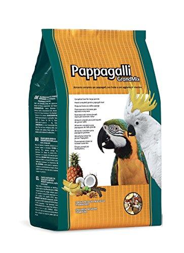 Padovan Grandmix Pappagalli - Alimento Completo per pappagalli - Miscela di Semi e cerali con Frutta - 2 kg