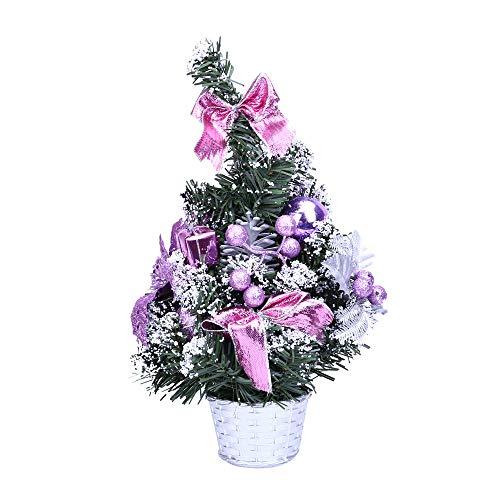 STOBOK Mini sapins de Noel Petit Sapin de Noel pour Decoration de Table Noel