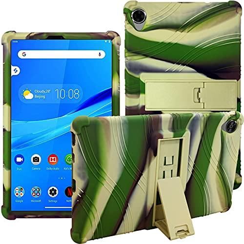 Funda de goma para tablet Lenovo Tab M8 (TB-8705F/TB-8505F/TB-8505X/TB-8505FS) de 8 pulgadas, resistente a los golpes, de silicona suave