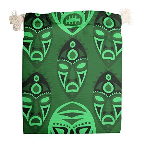 RQPPY Ägypten Indien Maya-Geschenktüten Durable Candy Sacks für Party Gastgeschenke 6 Stück, weiß, 20*25cm