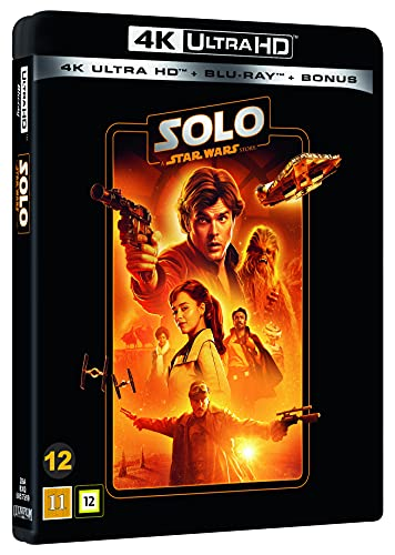 Disney Solo A Star Wars Story - 4K Blu Ray