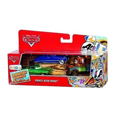 Disney Pixar Cars Pack Cadeau Ramone Fancy New Road / Doc Hudson / Mater